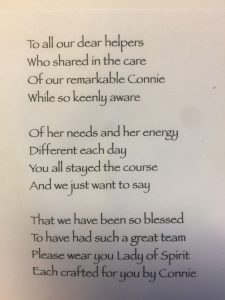 Senior Alzheimers care columbus ohio poem written for our caregivers