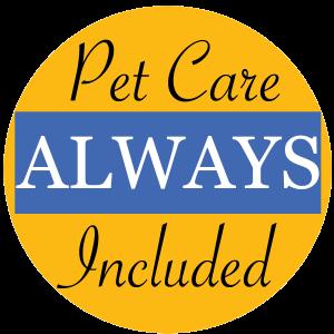 Senior pet care.  Senior home care.