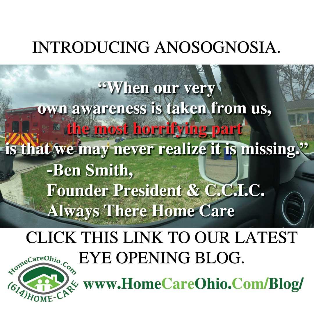 The Anosognosia Effect. Raincoat Reluctance.