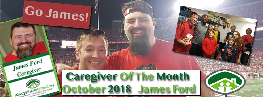 Celebrating James Ford, Caregiver Of The Month